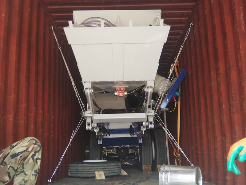 AS3.5 self loading mixer to Kazakhstan
