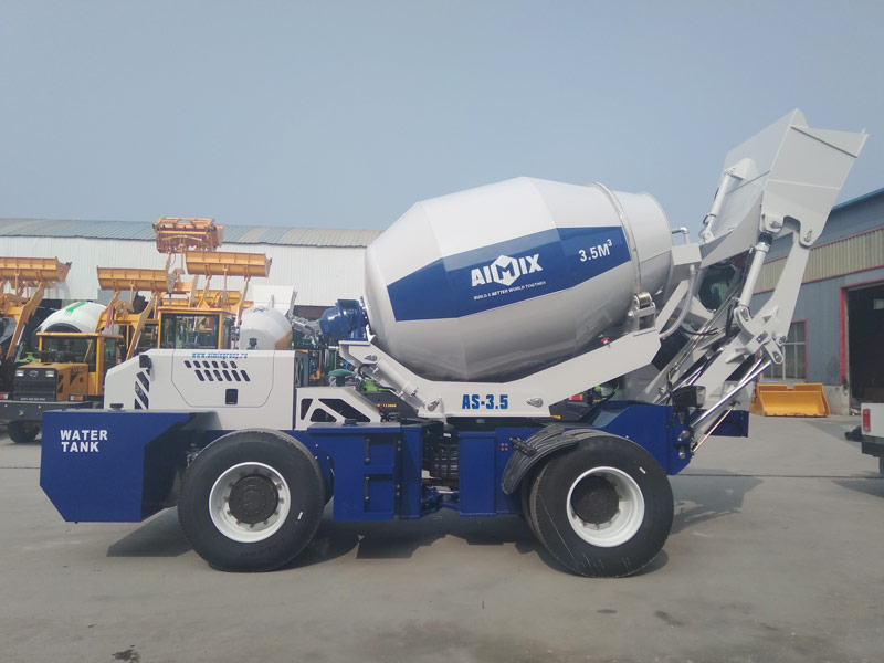 AS3.5B self loading mixer sent to Kazakhstan
