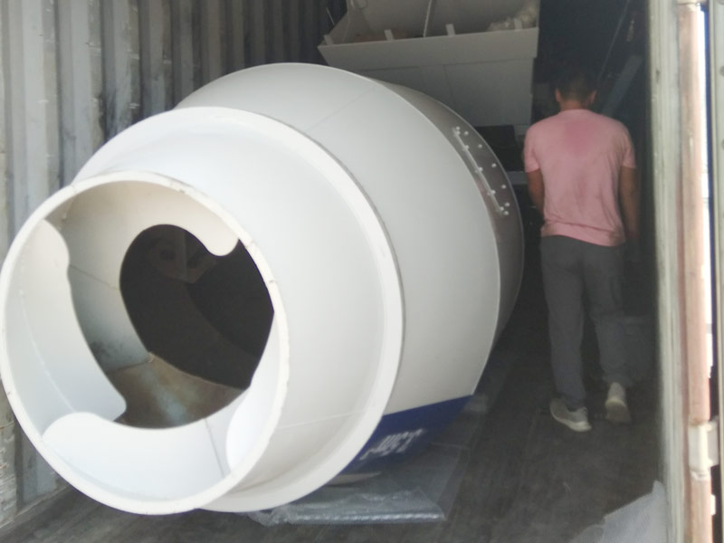 AIMIX AS3.5 self loading mixer sent to Kazakhstan