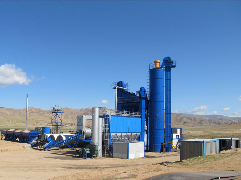 ALQ160 asphalt plant in Mongolia