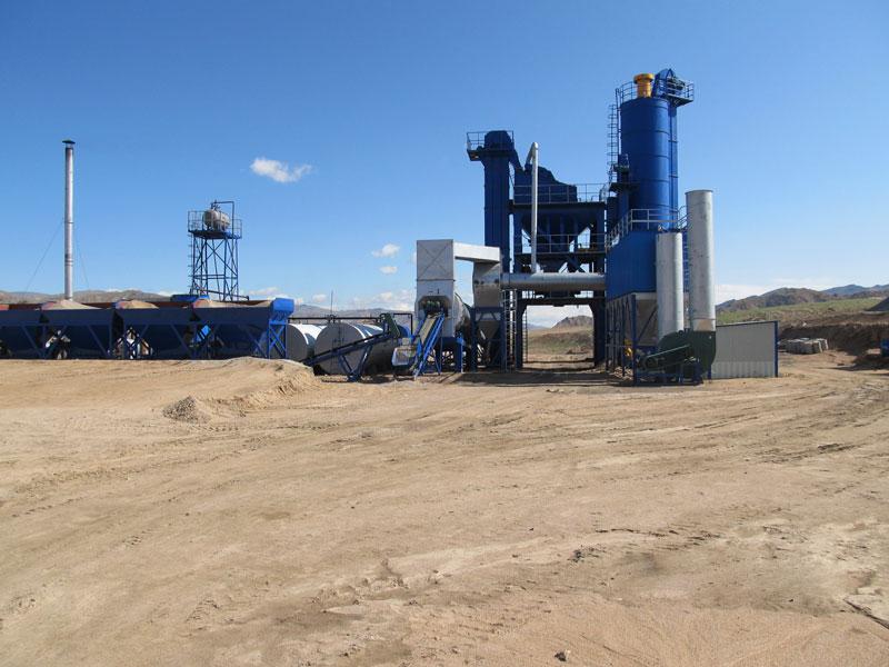 ALQ160 asphalt plant