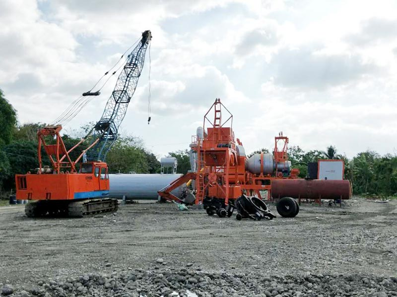 AIMIX 60 asphalt plant in the Philippines