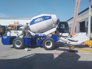 AIMIX AS3.5B self load mixer sent to Uzbekistan
