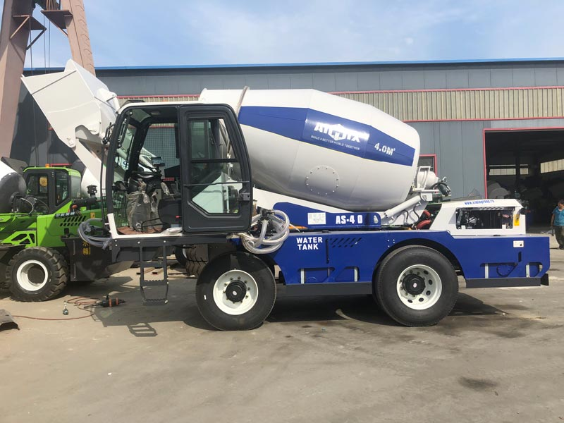 AS4.0 self loading mixer sent to Germany