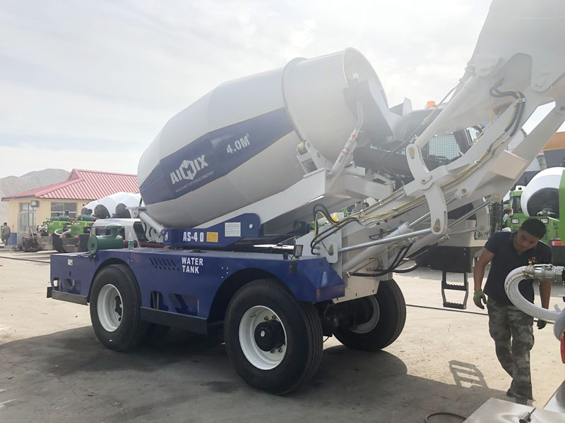 AS4.0 self loading mixer to Germany