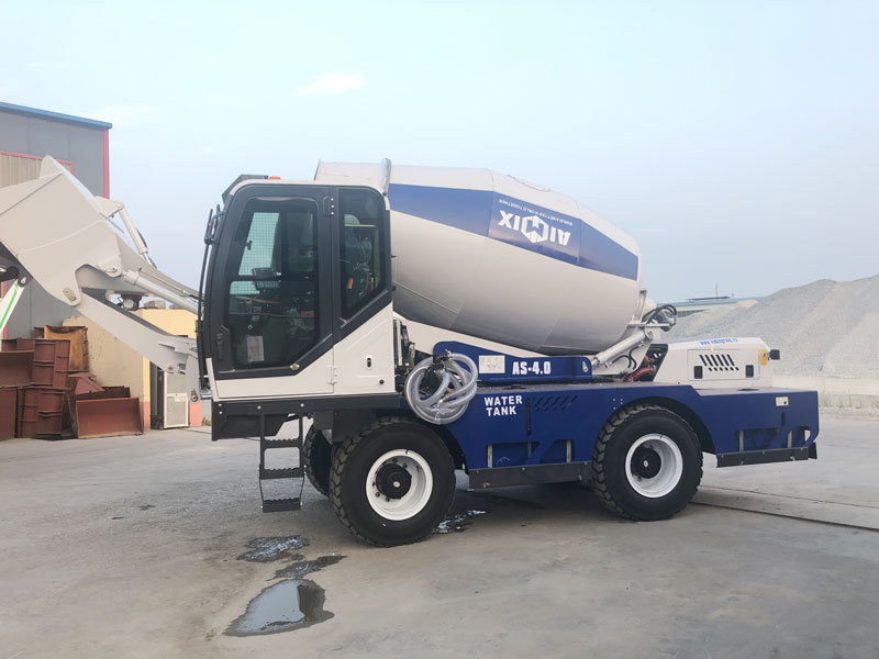AS4.0 self load mixer sent to Russia