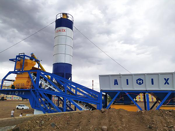 Aimix Mobile Concrete Plant