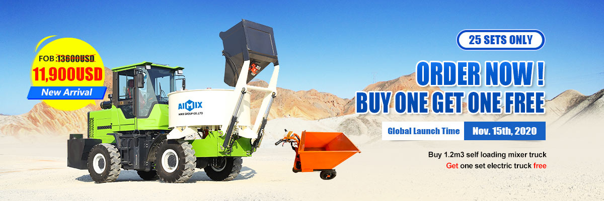 1.2cbm self loading mixer year end sale