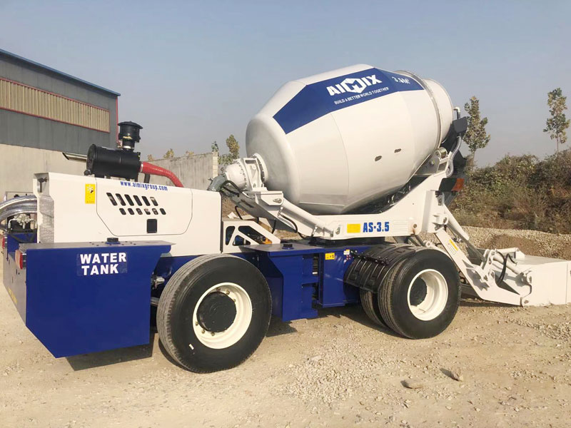 3.5C self load mixer to the Philippines