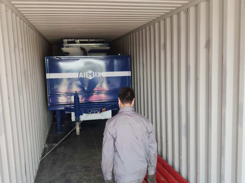 40 diesel concrete mixer pump to Indonesia
