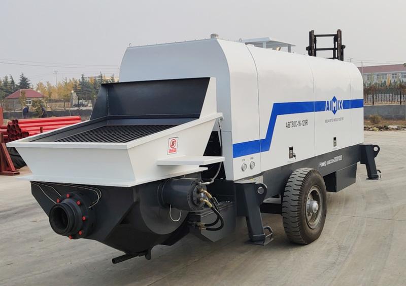 ABT80C diesel concrete pump to Russia