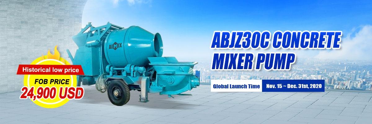 AIMIX concrete mixer pump year end big sale