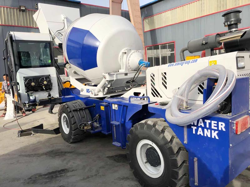 AS1.8 self loading mixer sent to the Philippines