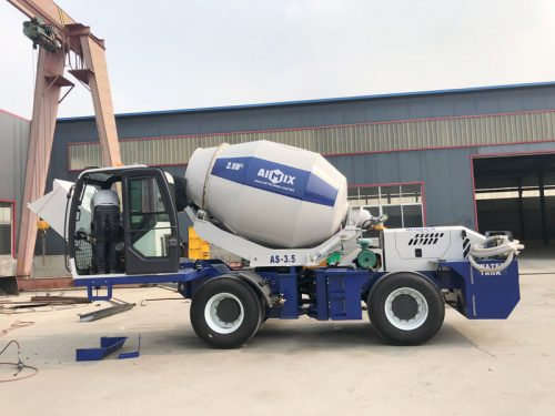 AS3.5 self loading mixer to the Philippines