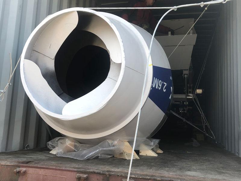 2.6m3 self loading mixer to Australia