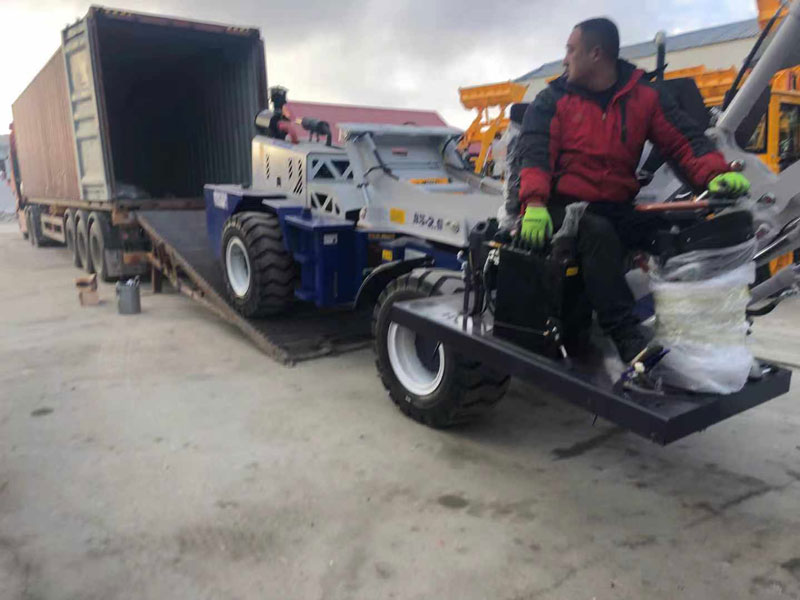 AIMIX 2.6m3 self loading mixer sent to Australia