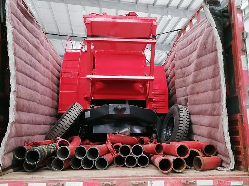 ABJZ30C diesel mixer pump sent to Malaysia