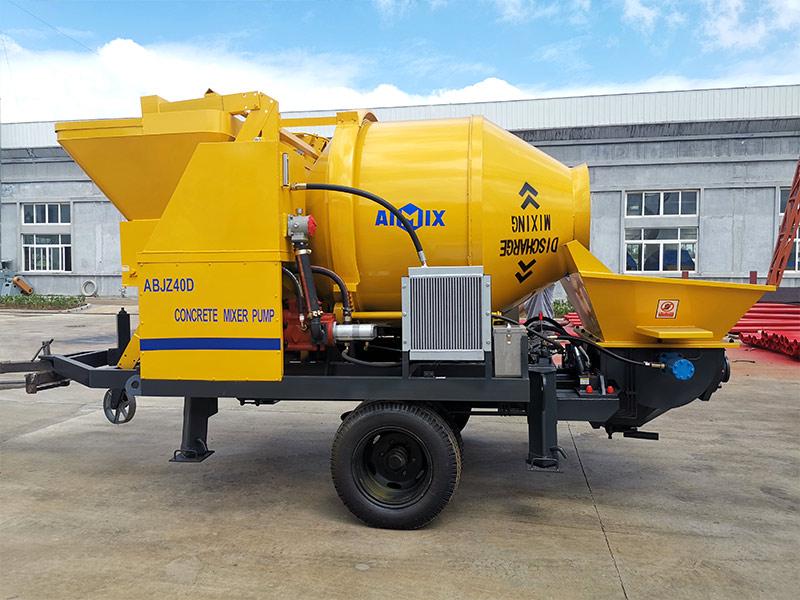ABJZ40D concrete mixer pump