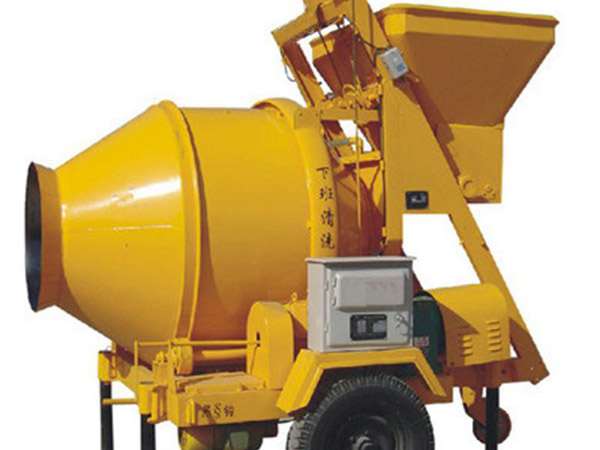 JZC350 tilt drum concrete mixer