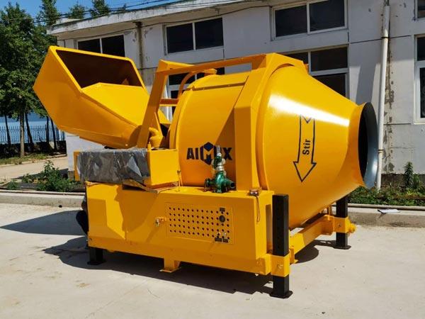 JZR500 diesel drum concrete mixer
