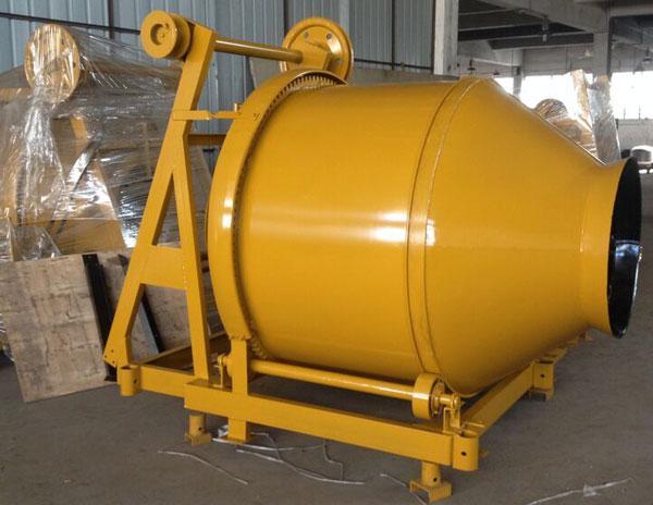 JZR500 diesel concrete mixers