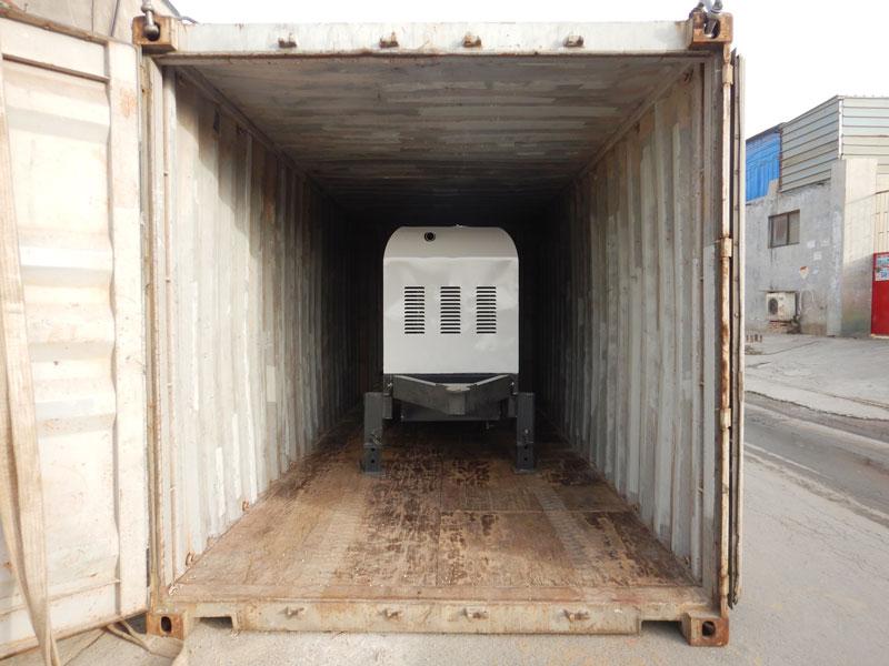 AIMIX ABT30C concrete pump to Indonesia