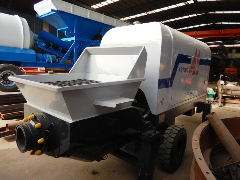AIMIX ABT30C diesel concrete pump