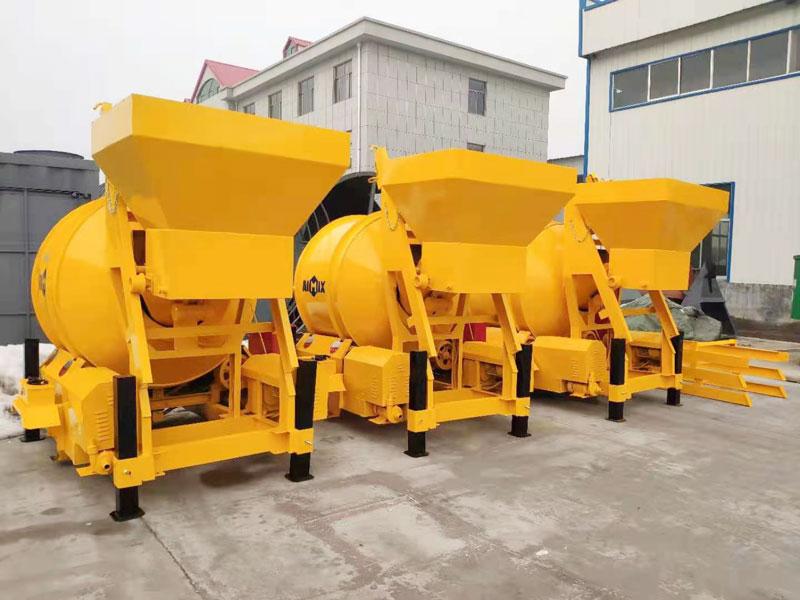 AIMIX JZM450 concrete mixer sent to Indonesia