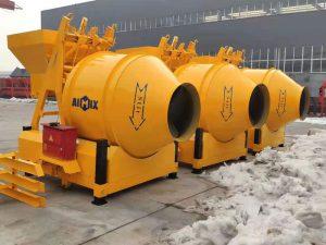 AIMIX JZM450 concrete mixers sent to Indonesia