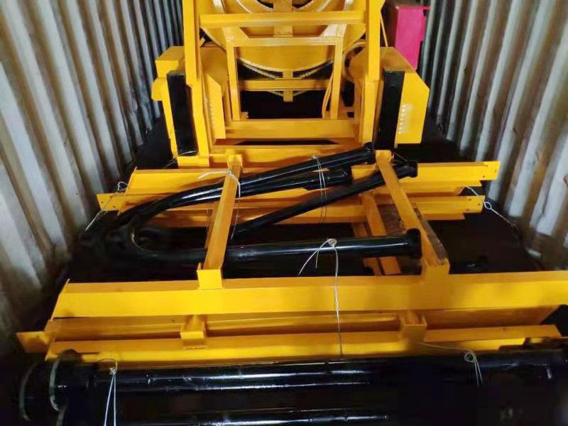JZM450 concrete mixer loaded
