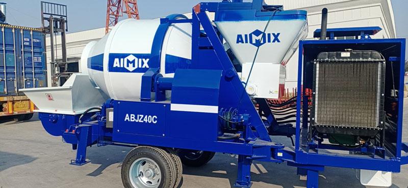 40 diesel mixer pump to Indonesia