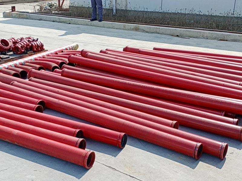 pump pipes
