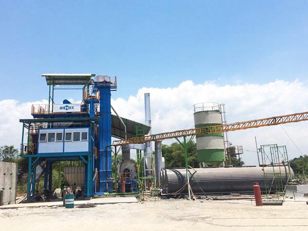 AIMIX asphalt plant Indonesia