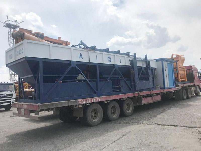 AIMIX AJ75 batching plant