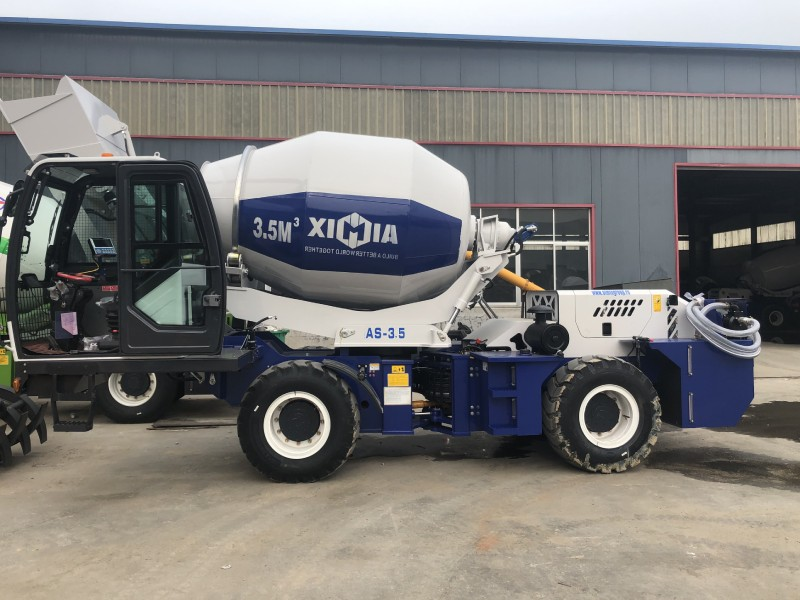 AIMIX AS3.5 self loading mixer to Russia
